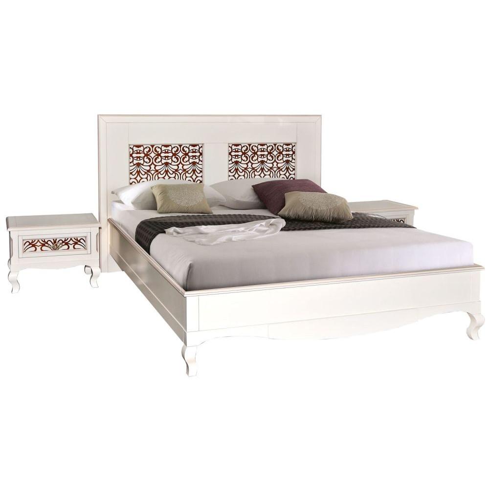 Кровать двойная Видана П426.02-1 Пинскдрев  П426.02-1